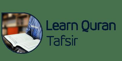 Home Learn Quran Tafsir